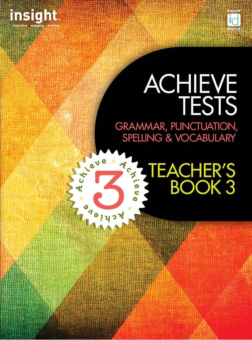 Achieve Tests Teacher's Book 3