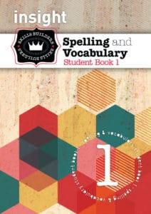 Insight Skills Builders Spelling & Vocabulary Student Book 1
