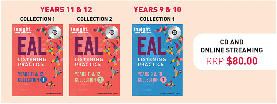 Insight EAL Listening Practice Collections