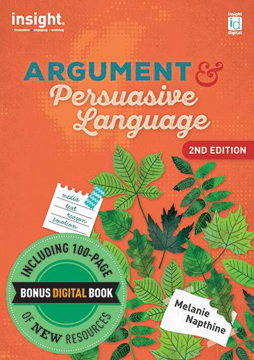 Argument & Persuasive Language 2nd edition