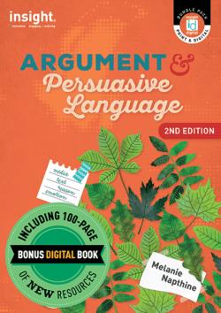Argument & Persuasive Language 2nd edition + Bonus digital book