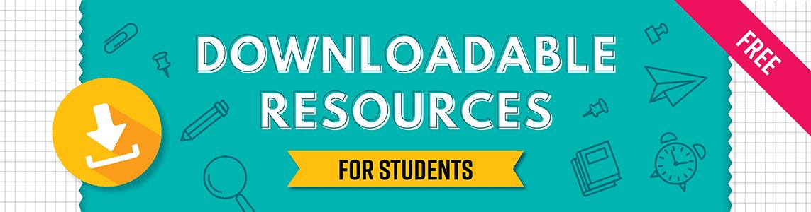 Downloadable resources - social media