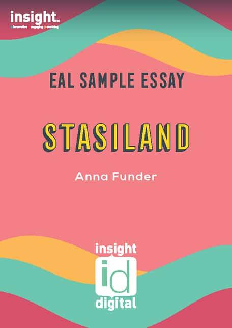 EAL Sample Essay - Stasiland