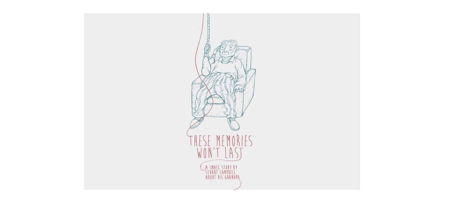 Multimodal short story: 'These Memories Won't Last'